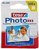 tesa Photo Klebepads - Beidseitig klebend zur Erstellung eines Fotobuches - 500 Stück