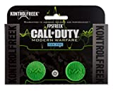 KontrolFreek FPS Freek Call of Duty Modern Warfare for PlayStation 4 (PS4) Controller | Performance Thumbsticks | 1 Low-Rise Convex, 1 High-Rise Concave | Green