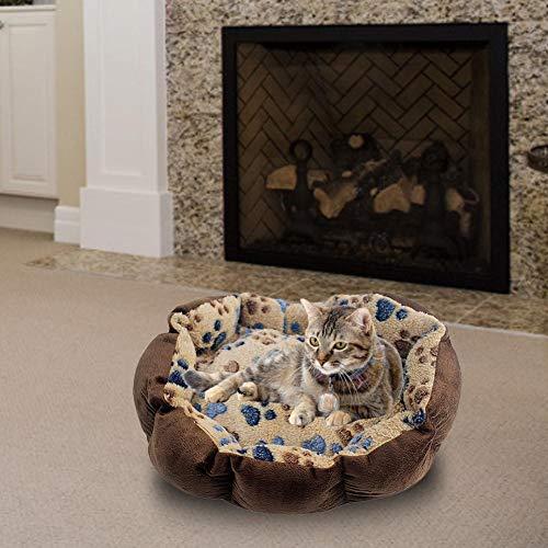 favourall Katzenbett,Haustier Nest Hund Nest Katze Nest Winter Haustier Hundebett durable