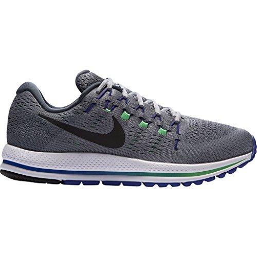 Nike Air Zoom Vomero 12 Zapatillas para correr, 004 STEALTH/BLACK-BLUE FOX-ELE, 12.5