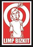 Heart Rock Original Limp Bizkit Target, Stoff, Mehrfarbig,