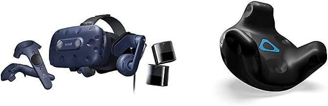 HTC VIVE Pro Virtual Reality System Bundle with HTC VIVE Virtual Reality System Tracker 2018