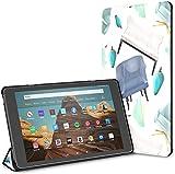 Estuche para el arreglo de la Sala de Estar Fire HD 10 Tablet (9.a / 7.a generación, versión 2019/2017) Estuche Impermeable para Kindle 10 Fundas y Fundas Auto Wake/Sleep para Tableta de 10.1 pulga