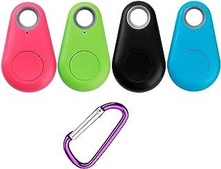 Schwarz Hemobllo Mini GPS Smart GPS Tracker Anti-Verlorene GPS f/ür Kinder Haustiere Brieftasche Tasche
