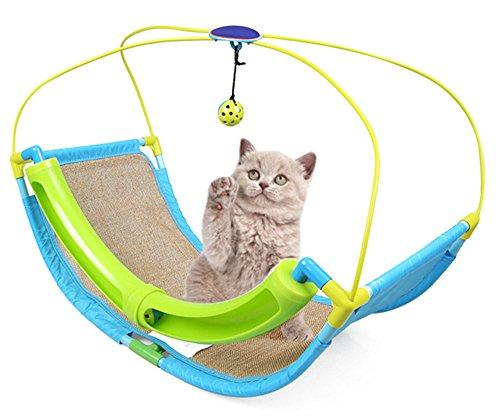 OSPet Multifunctional Katzenspielzeug Katzenhängematte Katze Scratcher Kratzbaum