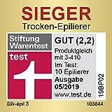 Braun Silk-épil 3 SE 3-440 Starter 3-in-1 Haarentfernung, Epilierer, Rasierer, Massagerollenaufsatz, weiß/flamingo - 2