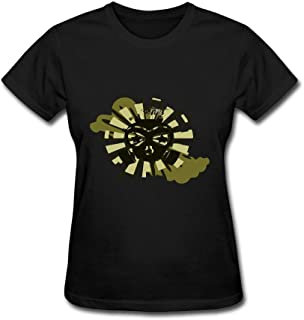 BABALAA Women's Gas Mask Short Sleeve T-Shirt