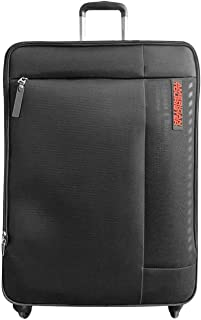 American Tourister Marina Soft Medium Luggage trolley bag Black,70 cm Spinner