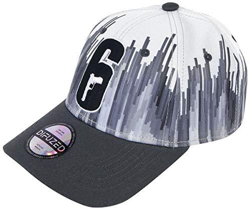 Rainbow Six Siege - Logo Männer Cap schwarz/weiß one Size