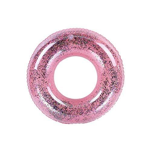 WMYATING Anillo de natación, boya salvavidas, inflable deportes acuáticos dibujos animados anime llavero inflable anillo de natación playa círculo flotador agua piscina partido (color: rosa 70 cm)
