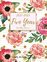 Five Year Planner: Monthly Planner and Calendar | 5 Year Planner and Monthly Calendar with Holidays | Agenda Schedule Organiser and 60 Months Calendar … calendar) (2021-2025 Monthly Planner) PDF