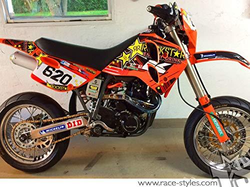 LC4 ab 1994-1998 LC4 EGS SC 400 | LC4 Duke SX SC EGS 620 ||DEKOR Decals Aufkleber Graphics
