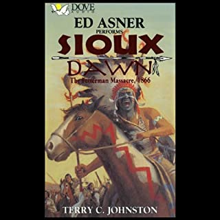Sioux Dawn audiobook cover art