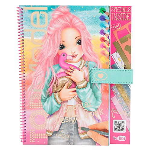 TOPModel 3043.001 Special Design Book en videos-kleurboek Flamingo