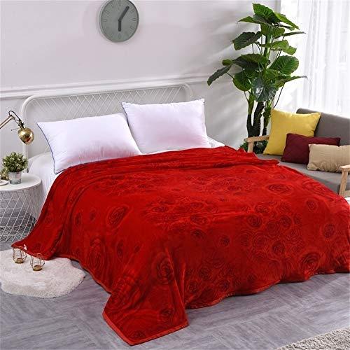 Fleecedeken winterwarm gewatteerde Throw deken voor bed knuffelig molton Throw bed voor op reis bank auto mantle deken wol 180x200cm Blanket 8
