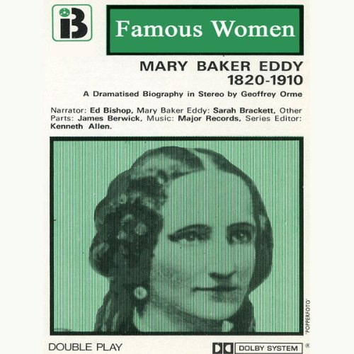 Mary Baker Eddy, 1820-1910 audiobook cover art