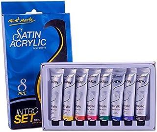 Satin Acrylic Semi Matte Intro Set 8pcs