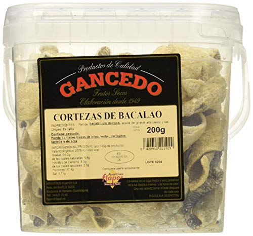Flaper, Aperitivo local, Cortezas de Bacalao- 200 gr.