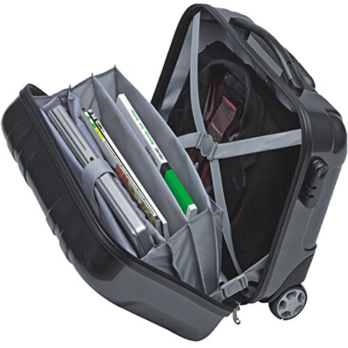 Notebooktrolley Businesstrolley Pilotentrolley Mit Notebookfach Polycarbonat
