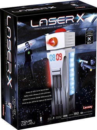 Lansay-88033-láser x Juego para Torre de Juego