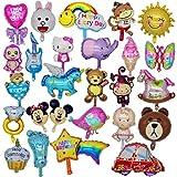 Globos divertidos para fiestas infantiles con animales - globos de 26 piezas - para fiestas y cumpleaños