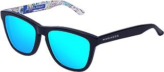 Hawkers Basqx02 Gafas de sol Unisex Adultos, color Negro, 5 mm