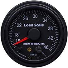 510-46-B Interior Analog Onboard Load Scale - for Tandem Axle Air Suspensions with One Height Control Valve - 7 Color LED