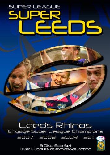 Leeds Rhino's - Engage Super League Champions (07/08/09/11) 8 Disc Box Set [DVD] [Edizione: Regno Unito]