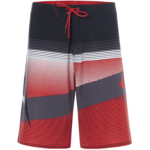 Oakley Men's Gnarly Wave 21, Red Line, 28