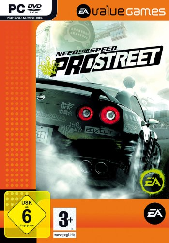 Diverse - Need for Speed Pro Street, DVD per PC