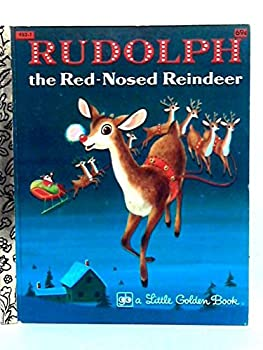 Hardcover RUDOLPH the Red-nosed Reindeer. A Little Golden Book. Book