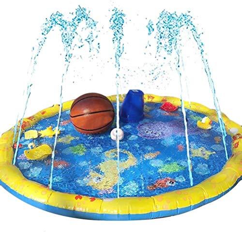 Juguete para niños con sprays de agua, PVC, inflable, para césped, juego de colores