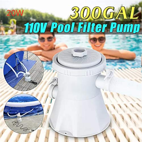NEW Electric Swimming Pool Filter Pump For Above Ground Pools Cleaning Tool