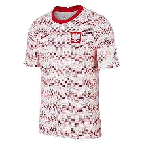 Nike Poland Training Teamtrikot White/White/Sport Red L