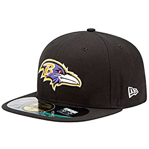 NFL Baltimore Ravens On Field 5950 Game Cap, 7