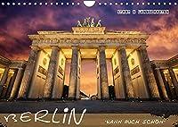 Berlin kann auch schoen (Wandkalender 2022 DIN A4 quer): Berliner Architektur und Landschaften (Monatskalender, 14 Seiten )
