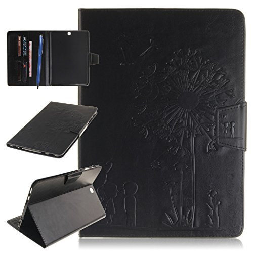 CareyNoce Galaxy Tab S2 9.7 Tablette Hülle,Painted Prägemuster Design PU Leder Abdeckung Stand Flip Schutzhülle Hülle für Samsung Galaxy Tab S2 9.7