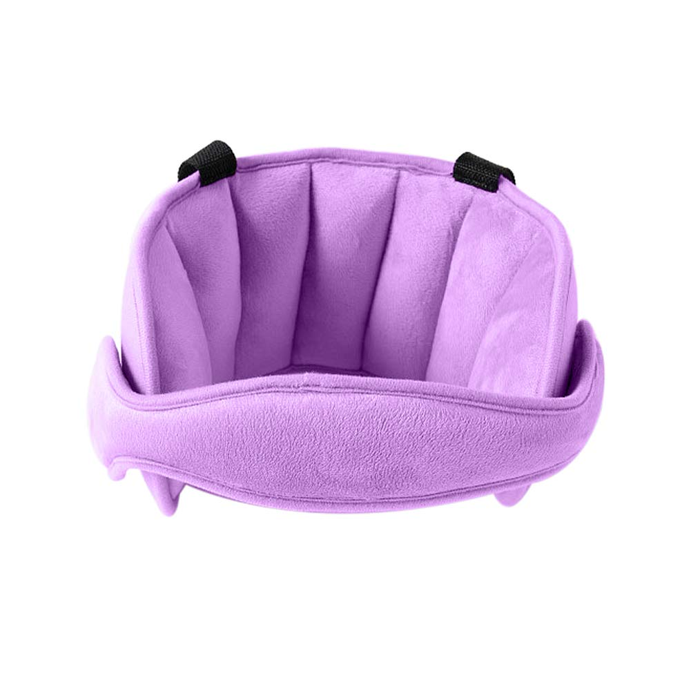 Blue ParaPace Child Car Seat Head Support Band Adjustable Comfortable Protect Pad Sleeping Headrest for Child