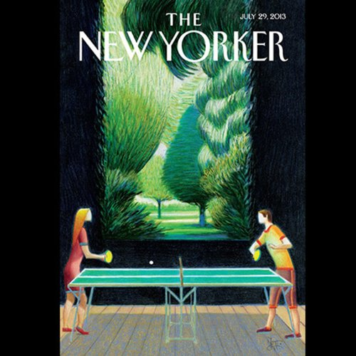 The New Yorker, July 29th 2013 (Atul Gawande, Alex Ross, James Surowiecki) cover art