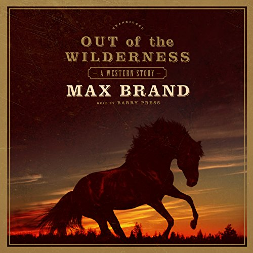Out of the Wilderness audiobook cover art