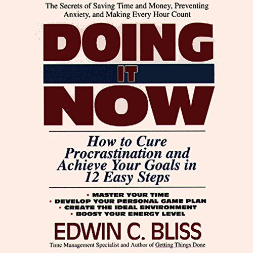 Doing It Now audiobook cover art