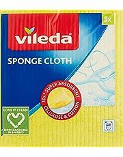 Vileda Sponge Cloth, 5 Pieces
