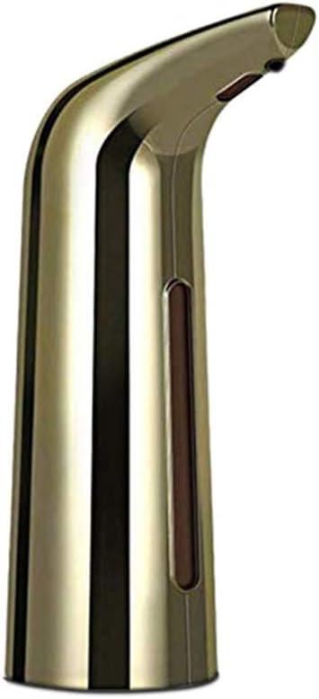 Folewr 400ML Automatic Liquid Soap Dispenser Smart IR Sensor Touchless Electroplated Sanitizer Dispensador for Kitchen Bathroom