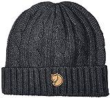 Fjallraven Braided Knit Hat Gorra, Unisex Adulto, Dark Grey, Talla Única
