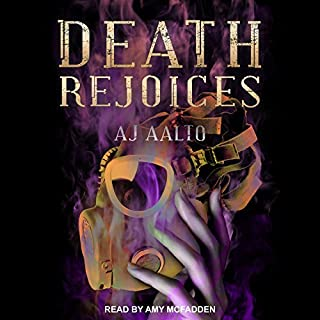 Death Rejoices     The Marnie Baranuik Files, Book 2              By:                                                                                                                                 A.J. Aalto                               Narrated by:                                                                                                                                 Amy McFadden                      Length: 23 hrs and 8 mins     172 ratings     Overall 4.6