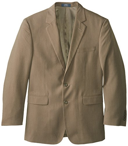 Arrow Men's Taupe Suite Separate Jacket, Khaki, 44 covid 19 (Taupe Suit Separates coronavirus)