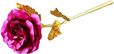 MSA JEWELS Combo of Pink Rose Flowers in Gift Box
