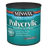 Minwax 63333444 Polycrylic Protective Finish Water Based,1 Quart,...