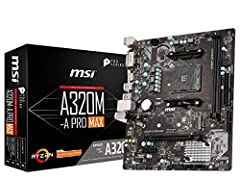 Supports 1st, 2nd and 3rd Gen AMD Ryzen/Ryzen with Radeon Vega Graphics and 2nd Gen AMD Ryzen with Radeon Graphics/Athlon with Radeon Vega Graphics and A-series/Athlon X4 Desktop Processors for Socket AM4 Supports DDR4 Memory, up to 3200 (OC) MHz Tur...