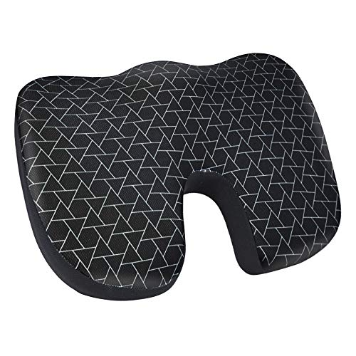 AmazonBasics Memory Foam Seat Cushion